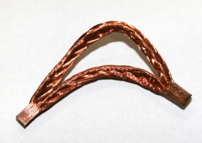 TECHNAX_Double tresses cuivre compactées