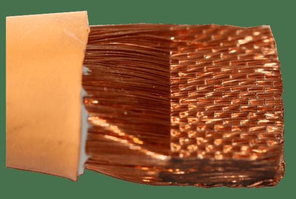 Cable cuivre 70mm² compacté par ultrasons